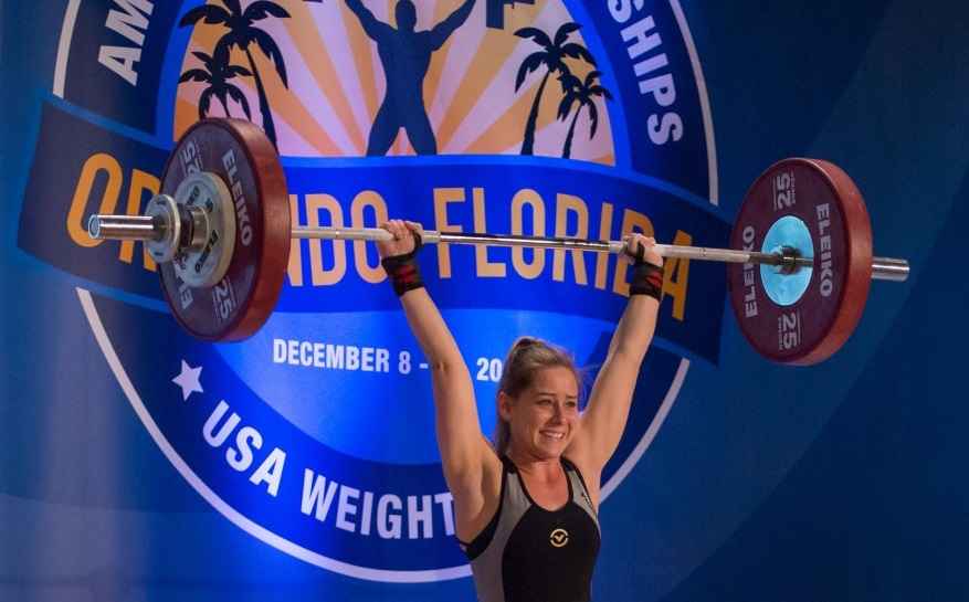 Inspiration in action: St. Joe's Medical Group's Malorie Sutter is a nationally recognized weightlifter